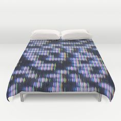 Painted Attenuation 1.1.1 Duvet Cover by Wayne Edson Bryan - $99.00