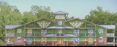 Waterside 6 unit Condominium designed for Jacksonville, N.C.