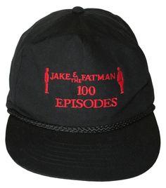 Jake & The Fatman P.I. 100 Episodes T.V. Hat Cap Vintage #Unbranded #BaseballHat