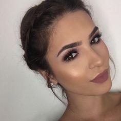 Bronze Smokey & Full Face Glam | KOKOANDCHANEL - YouTube