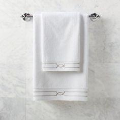 Resort Fretwork Hand Towel