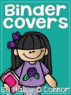 "FREE Editable Binder Covers.... Follow for Free ""too-neat-not-to-keep"" teaching tools & other fun stuff :)"