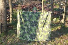 Winter weather photoshoot for Field Tarp/Poncho in M90 Camouflage. Really large piece! Available here: http://webshop.tacupgear.com