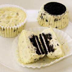 Oreo cookie in a cupcake… need I say more?