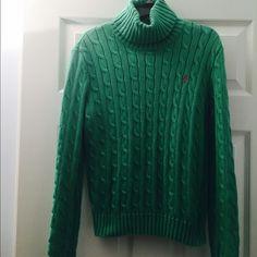 Ralph Lauren Women's Sweater 100% Cotton.In very good condition Ralph Lauren Sweaters Cowl & Turtlenecks
