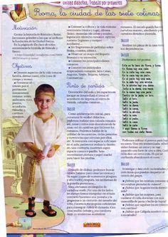 Roma Maestro Infantil Romans, Homeschool, Words, Ancient Rome, The World, Greek And Roman Mythology, Ancient Greece, Roman Law, Roman History