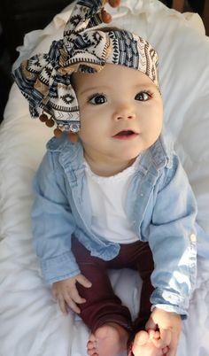 Bow | headwrap | baby girl fashion