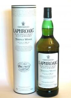 Nice woody Laphroaig. Tripple Wood this is what my husband drinks.  with a cigar. ;)