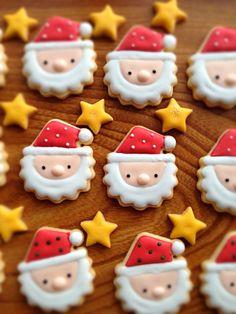 サンタさん♡アイシングクッキー