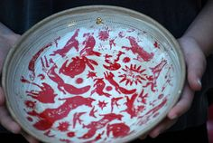 unique ceramic plate pottery dish ceramic bowl by claylicious