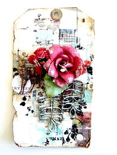 """made with the kit of dec 2014 """"Ever True"""" of Scrap of Elegance _ Stéphanie Papin"""