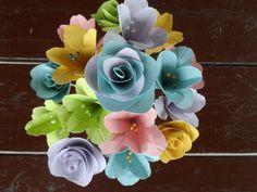 Oragami flower boquet