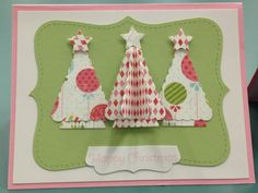 Christmas Card - stampin up uploaded by Jennifer Cardinal