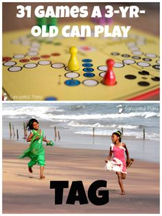31 Games - Tag: Think you know all about this classic kid's game?  Think again. Read all about this option that even the littlest players enjoy!
