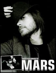 30 seconds to Mars --Jerad Leto ♥♥♥ Thirty Seconds, 30 Seconds, Jerad Leto, Rock Music, My Music, Best Rock Bands, We Will Rock You, Life On Mars, Shannon Leto