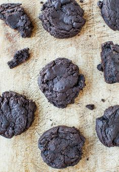 I've been wanting to make chocolate sugar cookies for awhile. But not just any sugar cookies because I don't even really like sugar cookies. Sugar cookies are usually too crispy, crunchy, and dry. Those adjectives don't belong with cookies. These cookies are moist, soft, and chewy. And thick. So you can really sink your teeth …