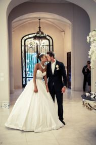 "Miss USA Says ""I Do"" in a Glamorous Ballroom Affair - Style Me Pretty"