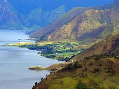 Ini kampungku, mana kampungmu? | Danai Toba, Sumatra Utara, Indonesia.