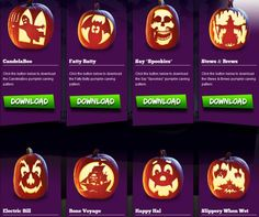 2,157 Free Pumpkin Carving Patterns and Templates for Halloween: Free Patterns at Pumpkin Masters