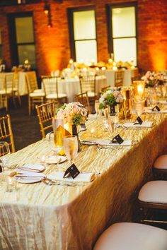 Gold Black Wedding Reception | photography by http://www.thegoodness.com/