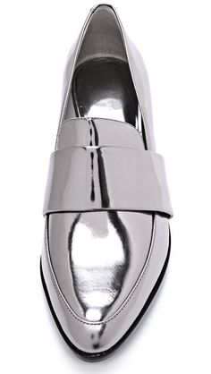 Phillip Lim Loafers - Holographic pointy silver  HOT!