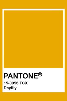 Okay, have to have at least SOME bright colors in there so I don't get depressed. I really do like yellow, but only as an accent color. Pantone Gold, Paleta Pantone, Yellow Pantone, Pantone Tcx, Pantone Swatches, Color Swatches, Colour Pallete, Color Schemes, Pantone Colour Palettes