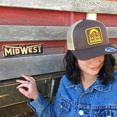 South Dakota trucker hat SoDak Retro hat by Oh Geez! Design