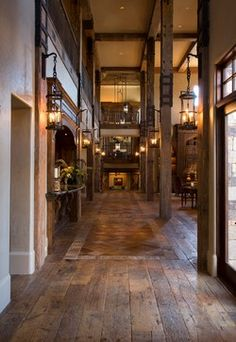 Tuscan Villa - traditional - hall - houston - Ellis Custom Homes LLC