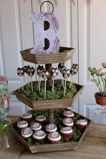 Guess who? Baby Shower themed party  Styled by Beth Beattie Cake Pops by Southern Belle's Cakery