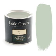 salix little greene paint - for the outer walls….