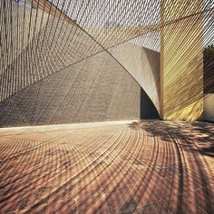 Awesome architectural details using light and form beautifully⠀  #architecture #building #lightandshade #curves