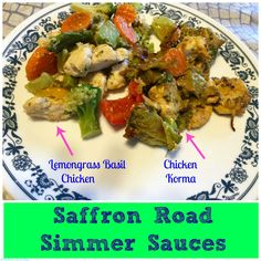 Saffron Road's Simmer Sauces are such an easy and quick option for a healthy dinner. Just add your own meat and veggies. Saffron Road Review and Giveaway (Ends 9/11) #MomBlogTourFF @SaffronRoadFood | The Mama Maven Blog