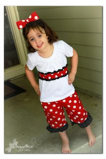 The Train To Crazy: Handmade Dress Up: DIY Mini Mouse Dress Up Costume Tutorial