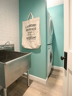 stackable washer & dryer laundry room pictures | stackable washer/dryer?? | Laundry & Utility Rooms