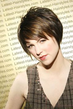 Got my hair cut short?!  (FYI -that's not me - its the pic I gave to my hairdresser!)