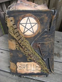 The Goddess is Alive and Magic is Afoot!.   Beautiful Book of Shadows
