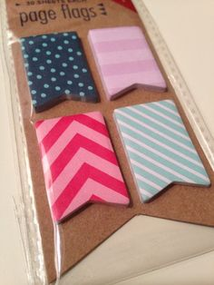 Target's 2014 page flag design.  Comes in a pack of 120 ct flags with a total of 4 designs. Rare. | $5.75