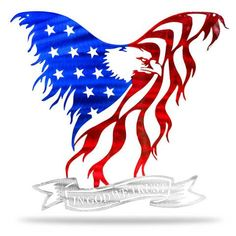online shopping for Precision Metal Art American Eagle Steel Laser Cut Wall Art God We Trust Banner 36 /American Eagle from top store. See new offer for Precision Metal Art American Eagle Steel Laser Cut Wall Art God We Trust Banner 36 /American Eagle Metal American Flag, American Flag Decor, Eagle American, Metal Artwork, Metal Wall Art, Best Scroll Saw, Scroll Saw Patterns Free, Cross Patterns, Art Patterns