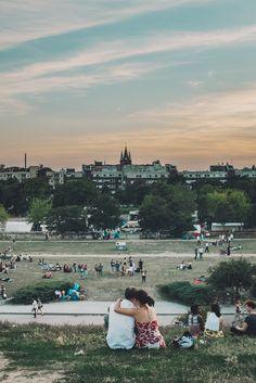 Berlin. A romantic sunset. #berlin #sunset ©2015 David Cifuentes