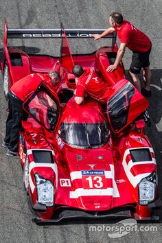 Rebellion Racing Rebellion R-One. Photo by Eric Gilbert on May 2015 at 24 Hours of Le Mans test day. Browse through our high-res professional motorsports photography Le Mans, Racing Team, Road Racing, Rally Raid, Vision Quest, Test Day, Indy Cars, Man Photo, Formula One