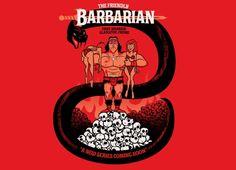"""The Barbarian"" #samarretaxula #conan"