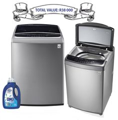 WIN washing machines and laundry liquids! Washing Machines, Kitchenware, Laundry, Home Appliances, Laundry Room, House Appliances, Washers, Kitchen Appliances, Laundry Service