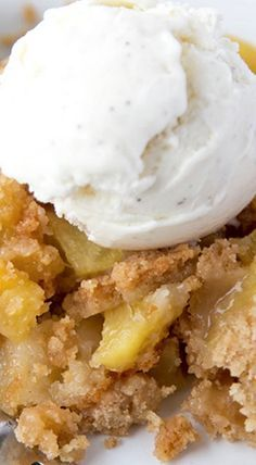 Pineapple Cobbler. Want to try this but will add coconut to it.