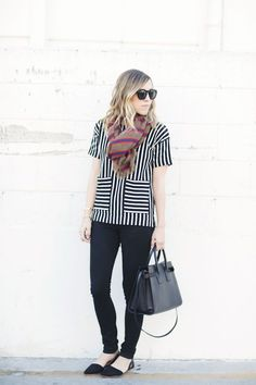 13 #Winning Ways to Remix Your Stripes for Fall via Brit + Co. waysify
