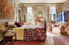 Andrea Anson's Manhattan Townhouse Photos | Architectural Digest