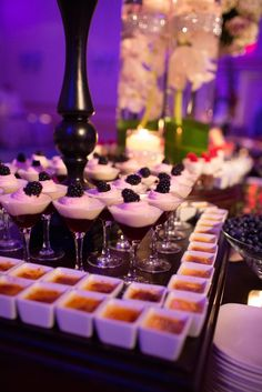 Elaborate Desserts in Mini Dessert Bar | The Grove – Cedar Grove, New Jersey http://www.dvse.co.uk/