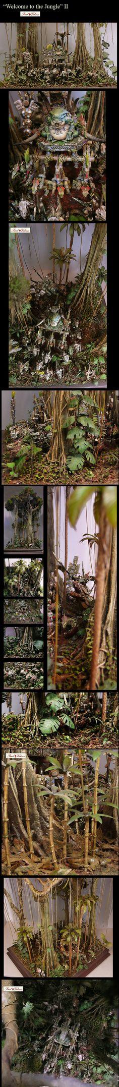 Warhammer Fantasy: Welcome to the Jungle II - Slann with Skinks