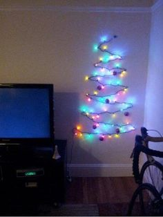 If your apartment or dorm is too small for a Christmas Tree