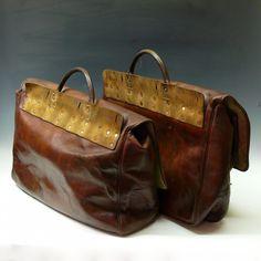 Bentleys — Leather Saddle bags — Vintage Luggage ... http://giftideasformen.professorsopportunities.com/