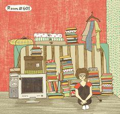 Room #601 by ARTION, via Behance